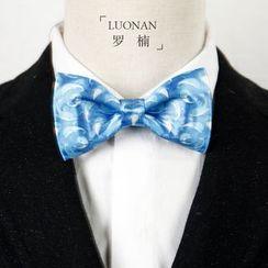 Luonan - Dolphin Print Bow Tie