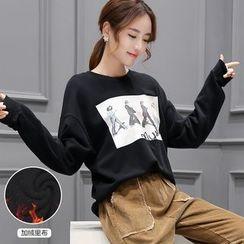 Romantica - Printed Pullover