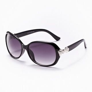 Moonbasa - Metal Bow Accent Sunglasses
