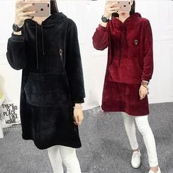 Dream Girl - Fleece Lined Hoodie Dress