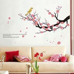 LESIGN - Floral Non-marking Wall Stickers