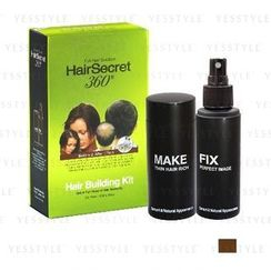 HairSecret 360 - Hair Building Kit (Medium Brown)