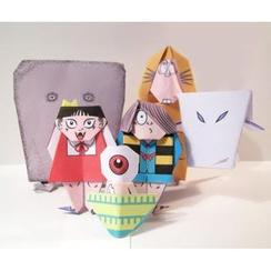 cochae - cochae : Gegege no Kitarou Origami Paper 6 Types Set