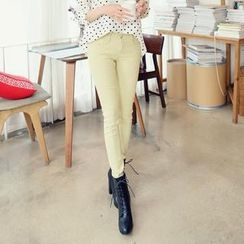 REDOPIN - Colored Skinny Pants