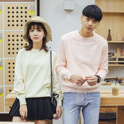 Simpair - Plain Couple Matching Sweater