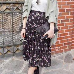 Jolly Club - Printed Midi Skirt