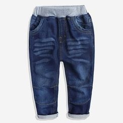 Happy Go Lucky - Kids Panel Jeans