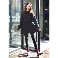 DEEPNY - A-Line Mini Pullover Dress