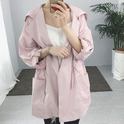 Cloud Nine - Hooded Trench Jacket