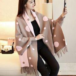 Shomez - Knit Cape Jacket