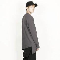Rememberclick - Asymmetric-Hem T-Shirt
