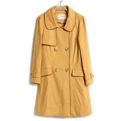9mg - Double-Breasted Trench Coat