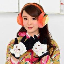 59 Seconds - Plush Cat Gloves