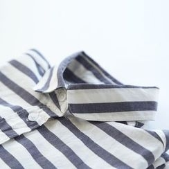 Bonbon - Short-Sleeve Striped Shirt