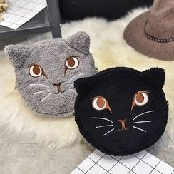 Diamante - 貓貓拉鍊小袋