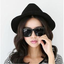 Azuki - Wool Fedora Hat