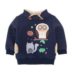 Tinsino - Baby Fleece Linen Sweatshirt