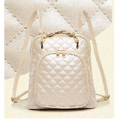 LineShow - Quilted Convertible Backpack