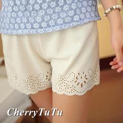 CherryTuTu - Laser Cut Under Shorts