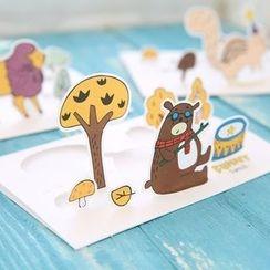 Cute Essentials - Cutout Greeting Card