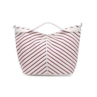 MBaoBao - Striped Tote Bag