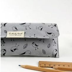 Tivi Boutique - Bird Print Pencil Case