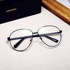 MOL Girl - Retro Aviator Glasses Frame