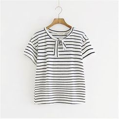 Storyland - Short-Sleeve Striped Top