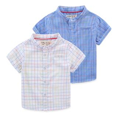 JAKids - Kids Check Short-Sleeve Shirt