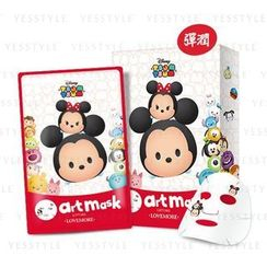 LOVEMORE - Lifting Effect Art Mask (Tsum Tsum Mickey & Minnie Mouse)