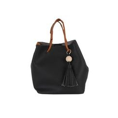 DABAGIRL - Tassel-Accent Colored Tote