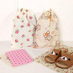 Hagodate - Printed Drawstring Shoe Bag