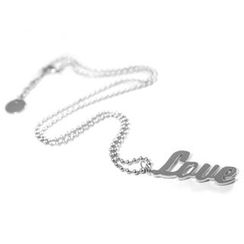 Kamsmak - Have a Word Necklace - Love