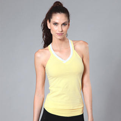 Almaz.C Active - Contrast-Trim Yoga Tank Top