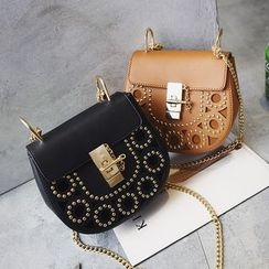 Nautilus Bags - Studded Crossbody Bag