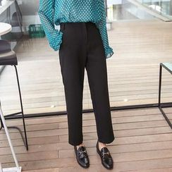 Seoul Fashion - Flat-Front Dress Pants