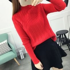 NIZ - Mock-Neck Knit Top