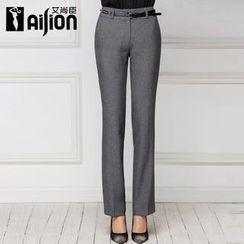 Aision - Straight-Leg Pants