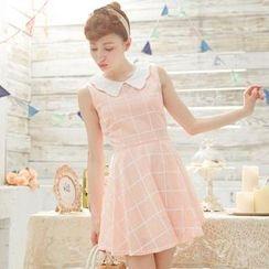 Tokyo Fashion - Plaid A-Line Dress