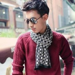 GreatMay - Check Scarf