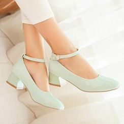 Tomma - Ankle Strap Pumps