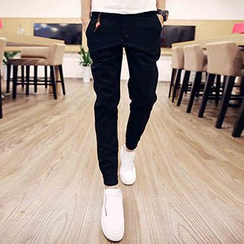 Prep Soul - Cuffed Slim-Fit Pants