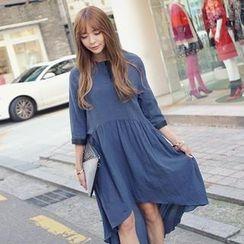 REDOPIN - 3/4-Sleeve Dress