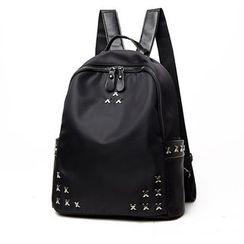 Beloved Bags - Cross Studded Backpack