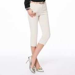 O.SA - Slim-Fit Cropped Pants