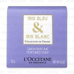 L'Occitane - Iris Bleu and Iris Blanc Perfumed Soap