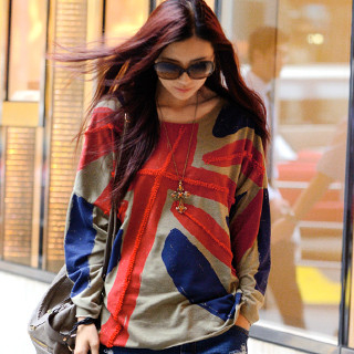 59 Seconds - Union Jack Oversized Top