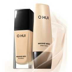 O HUI - Second Skin Foundation SPF35 PA++ (#02 Honey Beige)