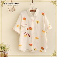 Maymaylu Dreams - Print Short-Sleeve Shirt