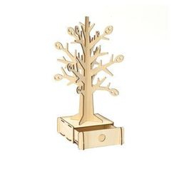Team Green - Plywood Puzzle - Tree (Accessory Box)
